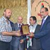 """تكريم القائد الوطني والنقابي الفلسطيني  الاستاذ المربي ابراهيم أحمد """"أبو بشار"""""""