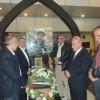 الجبهة الديمقراطية تضع اكليلا من الزهر على ضريح الشهيد القائد مغنية