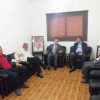 خلال لقاء مشترك بين قيادتي الجبهة الديمقراطية وحركة الجهاد الاسلامي في لبنان تحصين اوضاع المخيمات وحماية الشعب الفلسطيني مسؤولية لبنانية وفلسطينية مشتركة