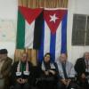 احتفال فلسطيني في مخيم شاتيلا في الذكرى السادسة والخمسين لانتصار الثورة الكوبية