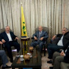 الجبهة الديمقراطية تعرض قضيتي الاونروا والانتفاضة مع قيادة حزب الله