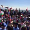 اطفال فلسطين يعتصمون عند الحدود اللبنانية الفلسطينية في تأكيد على حق العودة  تيسير عمار : لمواصلة التحركات حتى تتراجع الانروا عن قراراتها