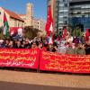 إعتصام للديمقراطية في وسط بيروت تزامنا مع جلسة البرلمان ودعما لإقرار الحقوق  فيصل: لسياسات اكثر انصافا وعدالة تقود لاقرار الحقوق الانسانية وتدعم حق العودة