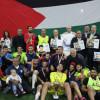 التحالف الاوروبي لمناصرة اسرى فلسطين  يشارك في وقفة تضامنية مع المعتقلين في مخيم برج البراجنة في ذكرى النكبة