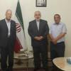 الجبهة الديمقراطية تلتقي السفير الايراني وتدين الاعمال الارهابية في طهران